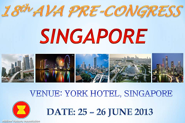 18th AVA Pre-Congress 2013